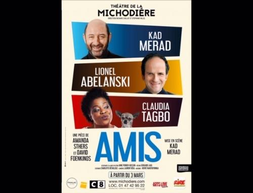 «AMIS», la nouvelle pièce de Amanda Sthers et David Foenkinos